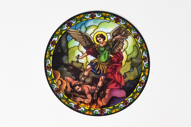 St.Michael Sun Catcher.