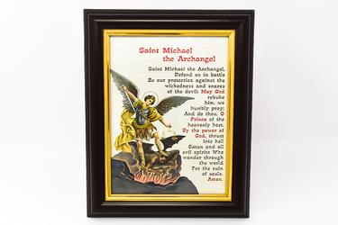 St.Michael Framed Picture.