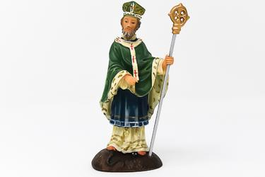 St.Patrick Resin Statue.