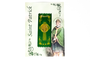 St.Patrick's Day Badge with Medal.