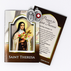 St.Theresa Relic Medal.