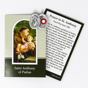 St. Anthony Relic Medal.