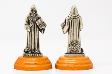 St. Benedict Statue.