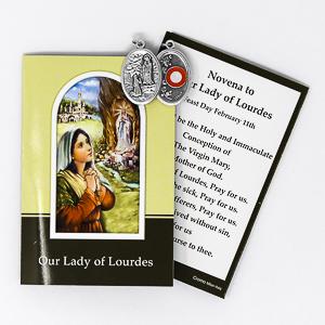 St. Bernadette Relic Medal.