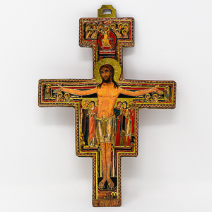 St. Francis Laser Cut Wall Cross.
