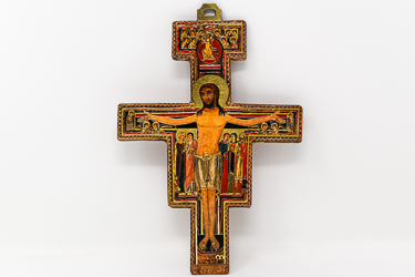 St. Francis Laser Cut Wall Cross.