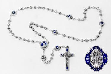 St Benedict Metal Rosary
