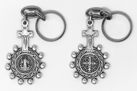 St Benedict Key Chain.