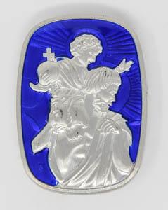 St Christopher Motorist Car Magnet