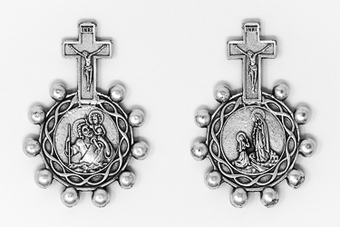 Rosary Ring St Christopher.
