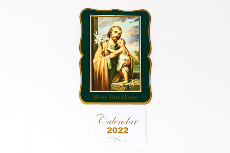St Joseph Bless this House 2022 Calendar.