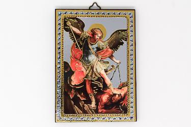 St Michael Guardian Angel Wall Plaque.