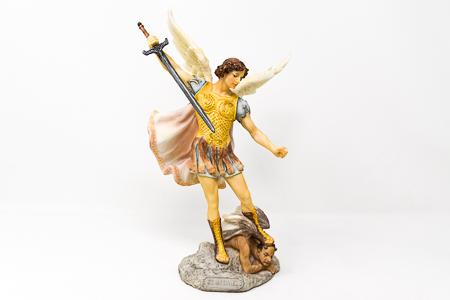 St Michael The Archangel Statue.