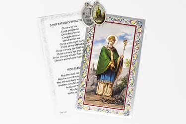 Prayer Card to St. Patrick.