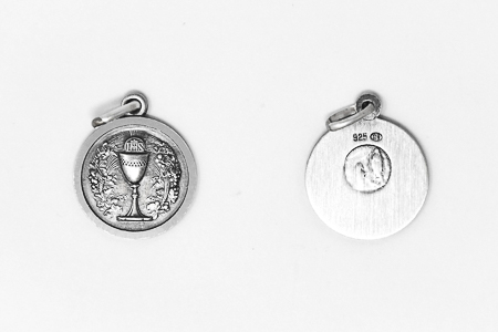 Sterling Silver Chalice Medal.