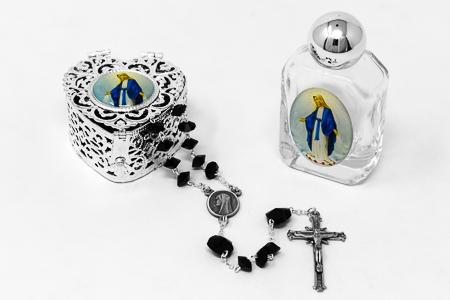 Swarovski Rosary Heart Gift Set.