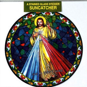 Divine Mercy Sun Catcher.