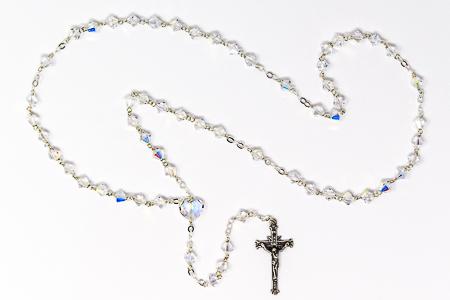 925 Swarovski Crystal Rosary