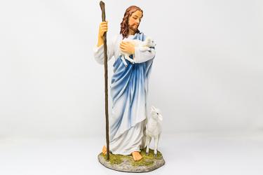 The Good Shepherd Statue.