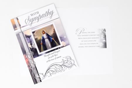 Miraculous Sympathy Card.