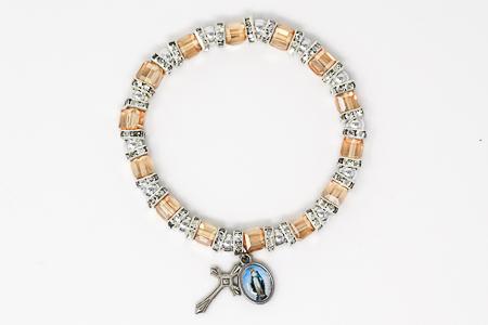 Topaz Crystal Miraculous Bracelet.