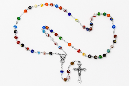 Murano Glass Rosary.
