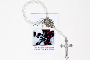 Virgin Mary One Decade Rosary.