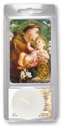 Saint Anthony Votive Candle & Prayer.