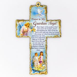 Prayer to My Guardian Angel Cross.