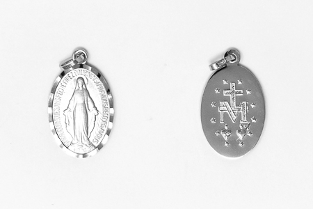 White Gold, Miraculous Medal.