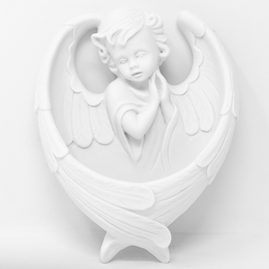 Angel Holy Water Font.