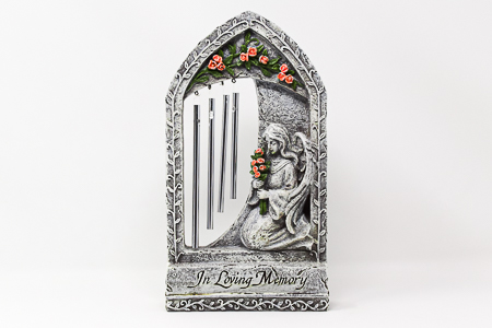 Graveyard Statue Celtic Angel.