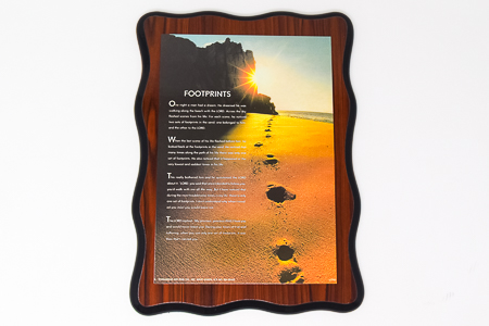 Laminated Footprints�Picture.