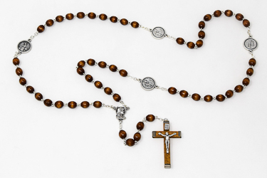 Bernadette Wooden Rosary.