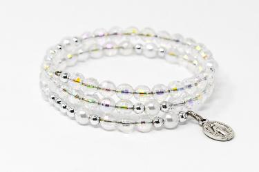 Wrap Around  Rosary Bracelet.