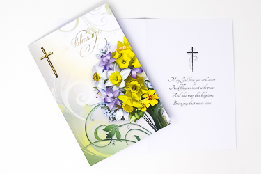 Blessings at Easter Card
