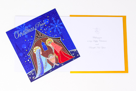 Handcrafted Christmas Card.
