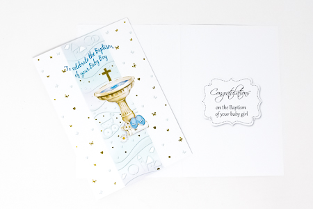 Baptism Card for a Boy.
