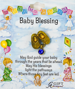 Baby Blessings Brooch.