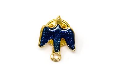 Blue Dove Pin.