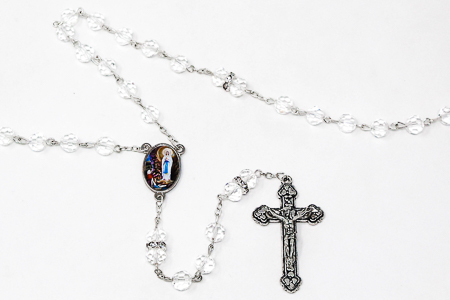 Lourdes Rosary Beads.