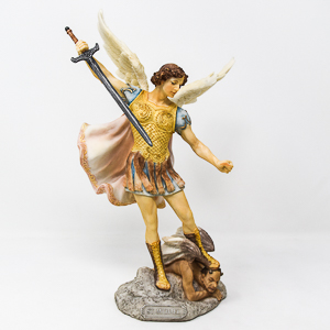 St Michael The Archangel Statue.