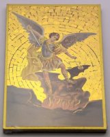 St Michael Guardian Angel Wall Plaque.