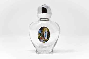 Blessed Heart Bottle of Lourdes Holy Water