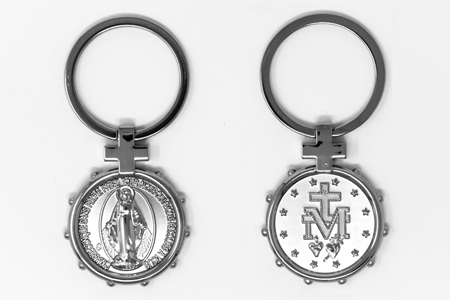 Miraculous Medal Rosary Key-ring