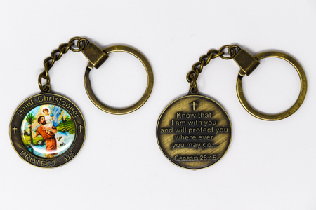 St Patrick Key Chain.