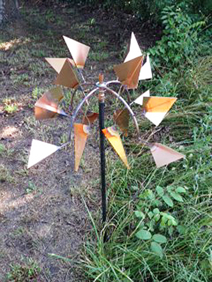 18 inch copper fin windmill