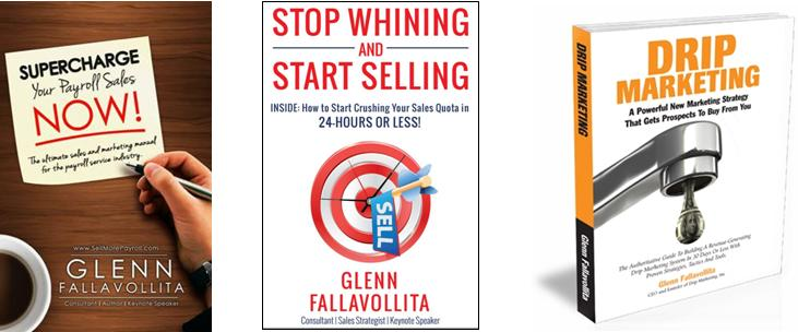 Glenn's Sales And Marketing Books!