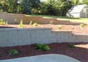 Retaining Wall Construction by Anything Outdoors Co. Richmond, MN