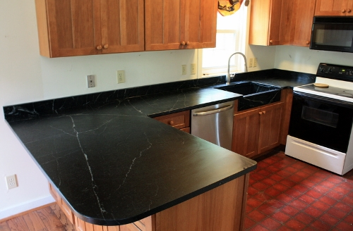 Soapstone Is A Natural Material With Unique Look And Feel